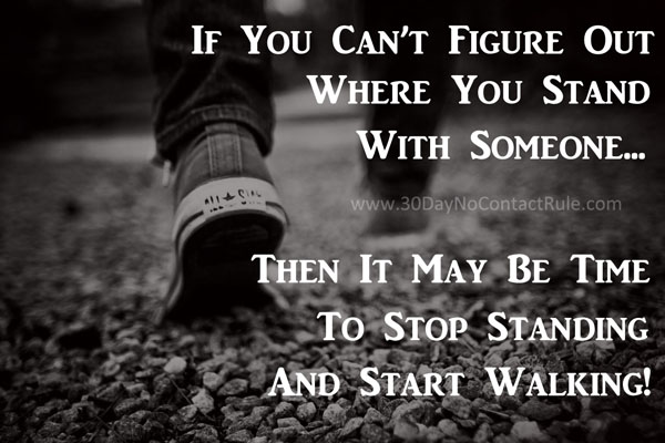 If you can't figure out where you stand