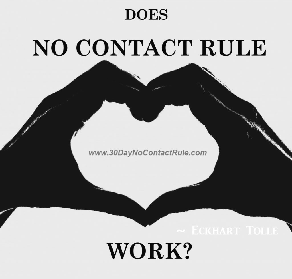 Does The No Contact Rule Work? - 30 Day No Contact Rule