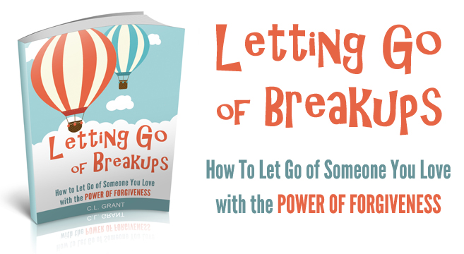 Letting Go of Breakups Book Available on Amazon