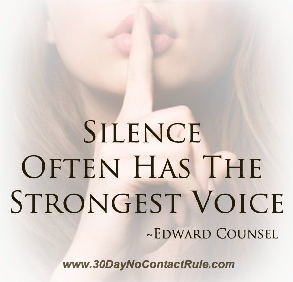 Silence Often Has The Strongest Voice