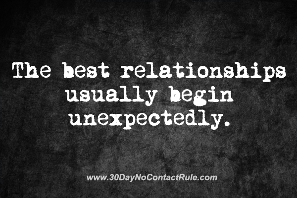 30 day no contact rule dating