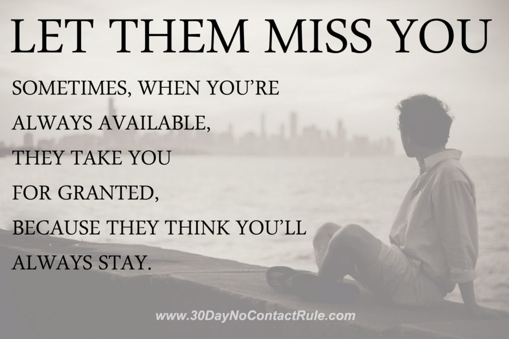let them miss you quotes Archives - 30 Day No Contact Rule