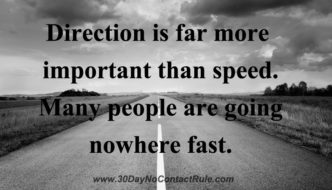 Direction Is Far More Important Than Speed