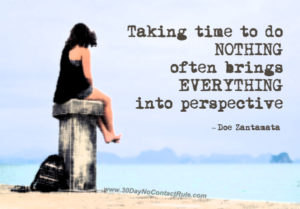 Taking Time After A Breakup