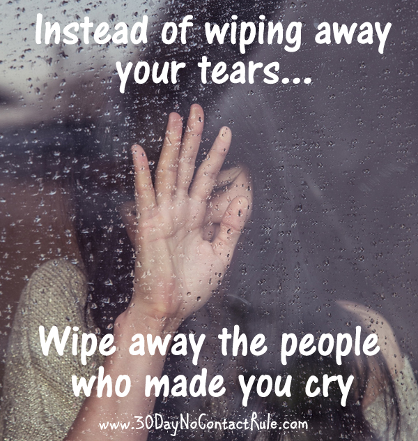 Wiping Away Tears